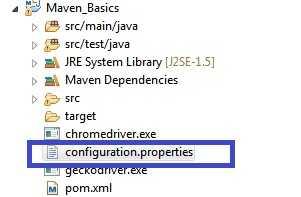 Properties-File-Selenium