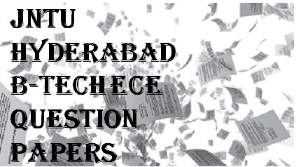 JNTUH B-Tech ECE Question Papers | Padhle