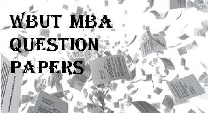 WBUT MBA Question Papers   Padhle