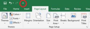 Customization Quick Access Toolbar 1