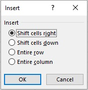 insering and deleting cells 2