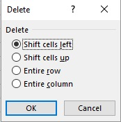 insering and deleting cells 4