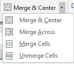 merging cells 1